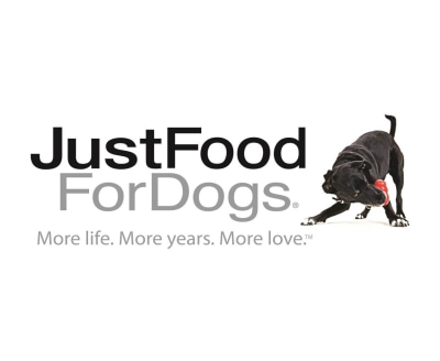 Shop Just Food For Dogs logo