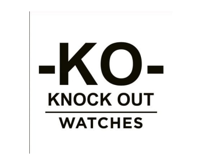 Shop Knock Out Watches logo