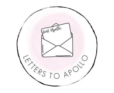 Shop Letters to Apollo logo