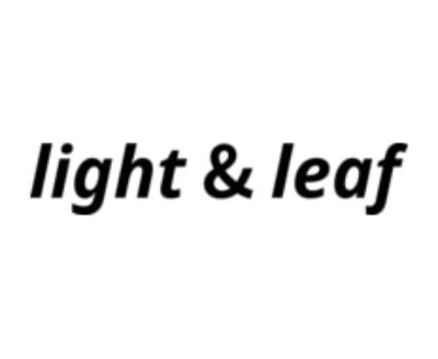 Shop Light Leaf logo
