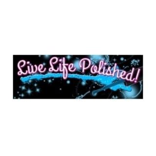Shop Live Life Polished logo
