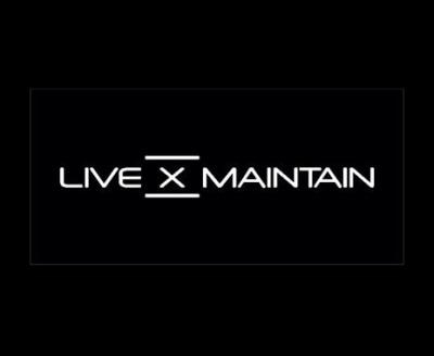 Shop Live X Maintain logo