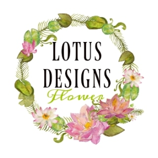Shop Lotus Designs Flower logo