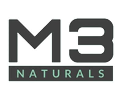 Shop M3 Naturals logo