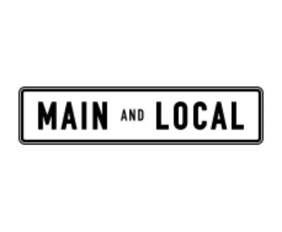 Shop Main and Local logo