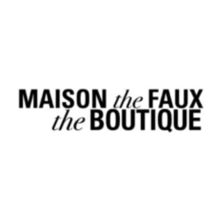 Shop Maison The Faux logo