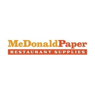 Shop McDonaldPaper Restaurant Supplies logo