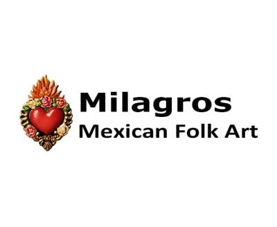 Shop Milagros Mexican Folk Art logo