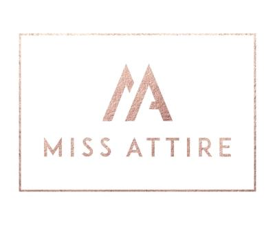 Shop Miss Attire logo