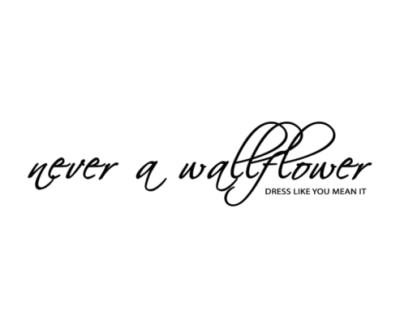 Shop Never A Wallflower logo