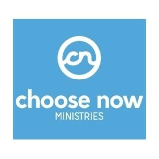 Shop Choose NOW Ministries logo