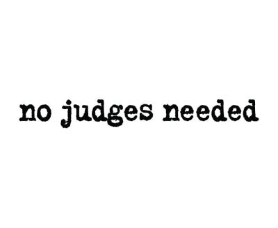 Shop No Judges Needed logo