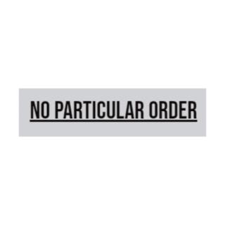 Shop No Particular Order logo