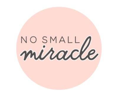Shop No Small Miracle logo