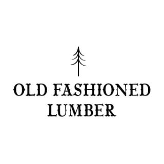 Shop Old Fashioned Lumber logo