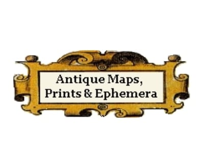Shop Antique Maps and Prints logo