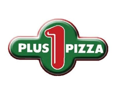 Shop Plus One Pizza logo