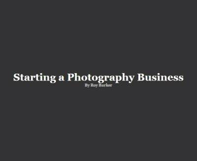 Shop Starting a Photography Business logo