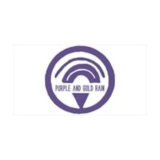 Shop Purple and Gold Rain logo