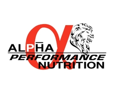 Shop Alpha Performance Nutrition logo