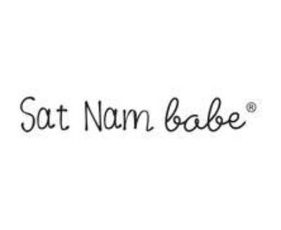 Shop Sat Nam babe logo