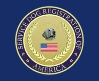 Shop Service Dog Registration Of America logo