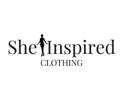 Shop She Inspired Clothing logo
