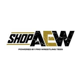 Shop Shop AEW logo