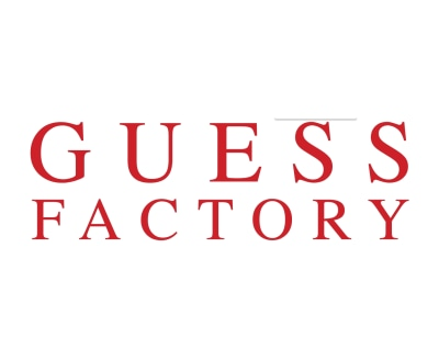 Shop Guess Factory logo