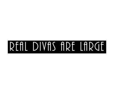 Shop Real Divas are Large logo