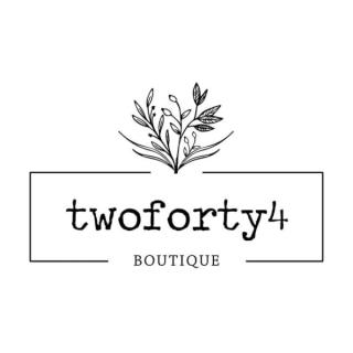 Shop TwoForty4 Boutique logo