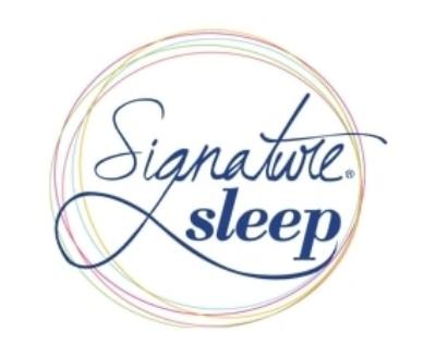Shop Signature Sleep logo