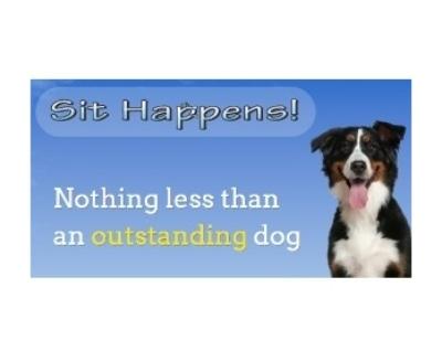 Shop Sit Happens Dog Training logo