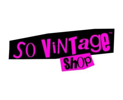 Shop So Vintage Shop logo