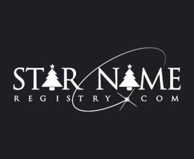 Shop Star Name Registry logo