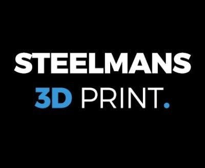 Shop Steelmans 3D Print logo