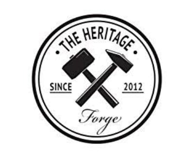 Shop The Heritage Forge logo