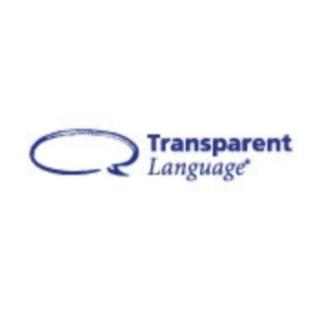 Shop Transparent Language logo