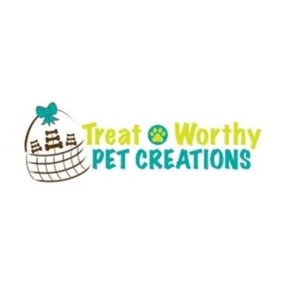 Shop Treat Worthy Pet Creations logo