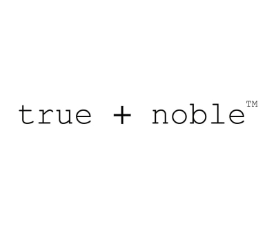 Shop True + Noble Apparel logo