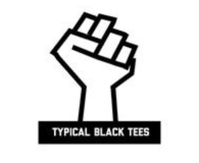 Shop Typical Black Tees logo