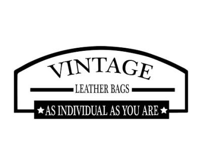 Shop Vintage Leather Bags logo