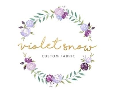 Shop Violet Snow Custom Fabric logo