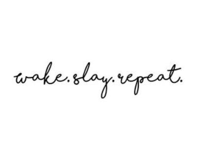 Shop Wake Slay Repeat logo