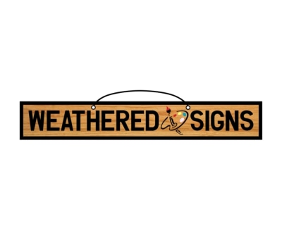 Shop Weathered Signs logo