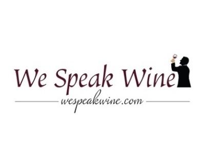 Shop WeSpeakWine.com logo
