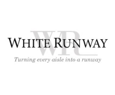 Shop White Runway logo