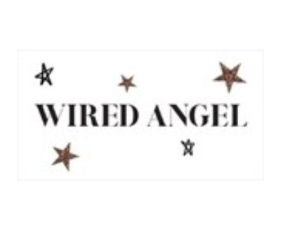 Shop Wired Angel logo