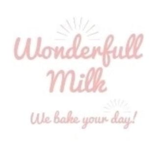 Shop wonderfull milk logo