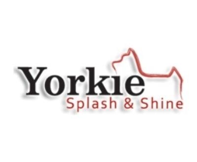 Shop Yorkie Splash and Shine logo